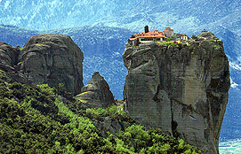 Meteora Monastery Of Aghia Triada