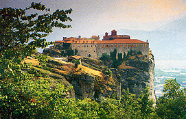 Meteora The Convent Of Aghios Stefanos