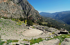Delphi Theater Of Apollo