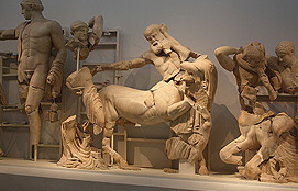 Olympia West Pediment Of The Temple Of Zeus