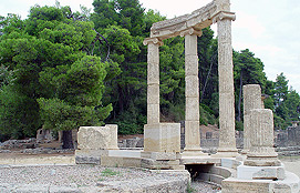 Ancient Olympia Philippeion