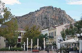 Nafplion Palamidi Fortress