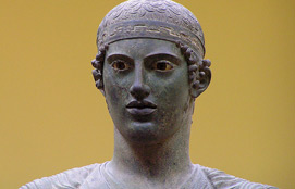 Archaeological Museum Of Delphi Charioteer